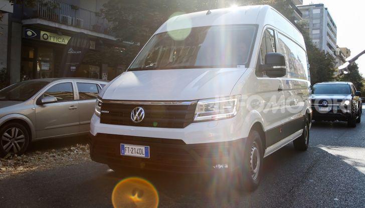 Volkswagen e-Crafter, il commerciale elettrico per superare i divieti - Foto 2 di 15