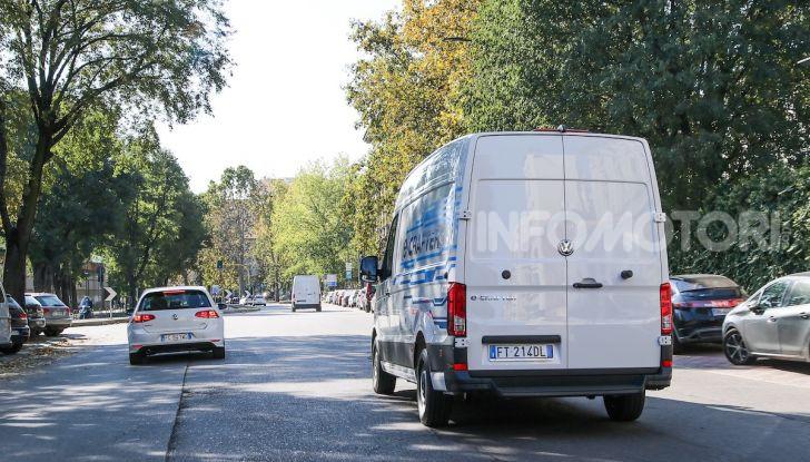 Volkswagen e-Crafter, il commerciale elettrico per superare i divieti - Foto 3 di 15