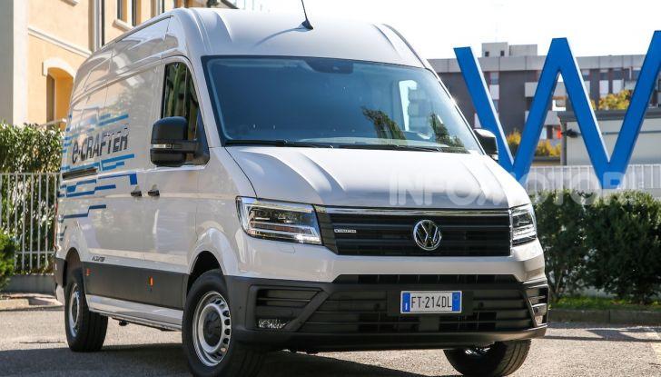 Volkswagen e-Crafter, il commerciale elettrico per superare i divieti - Foto 5 di 15
