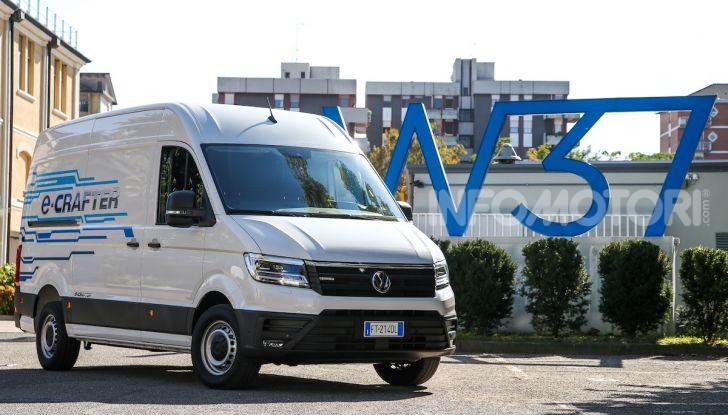 Volkswagen e-Crafter, il commerciale elettrico per superare i divieti - Foto 6 di 15