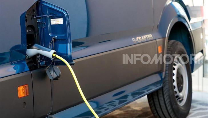 Volkswagen e-Crafter, il commerciale elettrico per superare i divieti - Foto 8 di 15