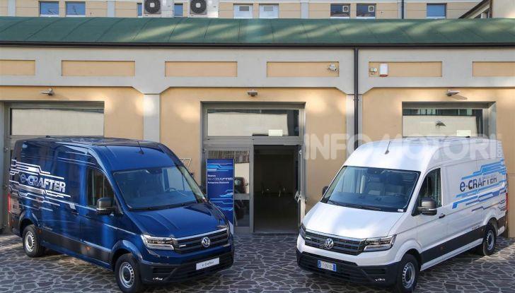 Volkswagen e-Crafter, il commerciale elettrico per superare i divieti - Foto 9 di 15
