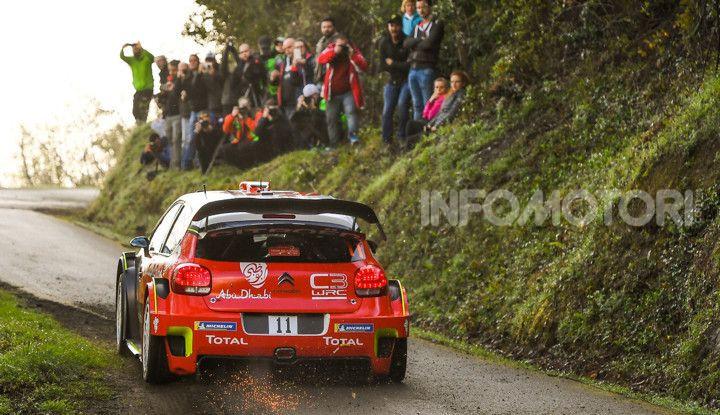 WRC Spagna 2018: tre Citroën C3 WRC al penultimo Rally della stagione - Foto  di