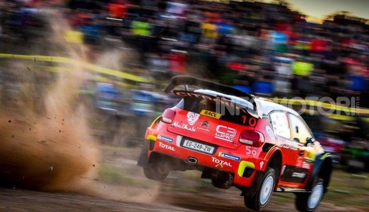 WRC Spagna 2018- Shakedown: le C3 WRC pronte per la sfida catalana - Foto  di