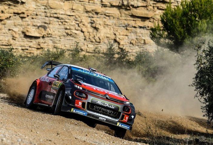 WRC Spagna 2018- Giorno 1: Sébastien Loeb lotta per il podio con la C3 WRC