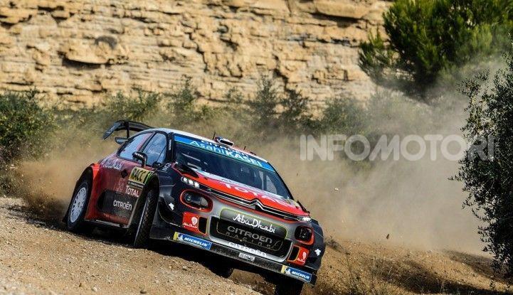WRC Spagna 2018- Giorno 1: Sébastien Loeb lotta per il podio con la C3 WRC - Foto  di