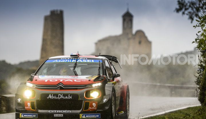 WRC Spagna 2018- Giorno 2: Sébastien Loeb al terzo posto con la C3 WRC #10 - Foto  di