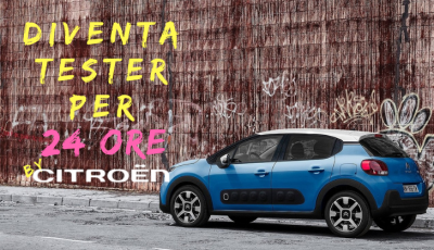 Diventa tester per un giorno con 'Your Driving Day' di Citroën