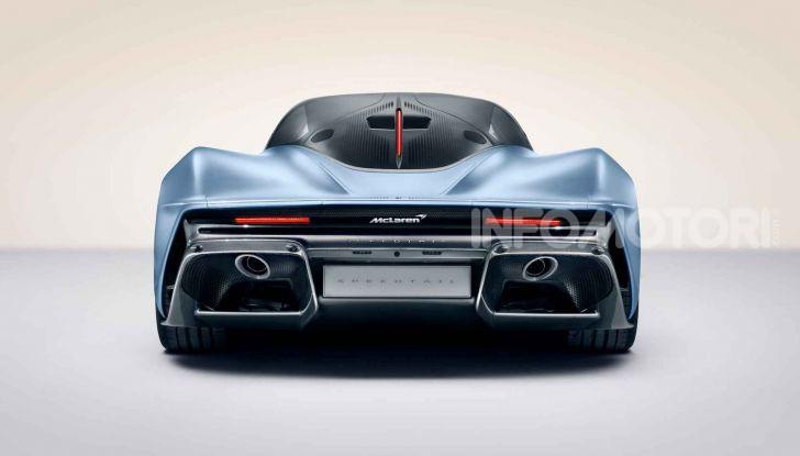McLaren Speedtail, la hypercar da 391 km/h - Foto 10 di 13