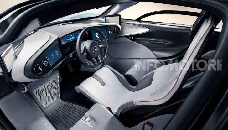 McLaren Speedtail, la hypercar da 391 km/h - Foto 7 di 13