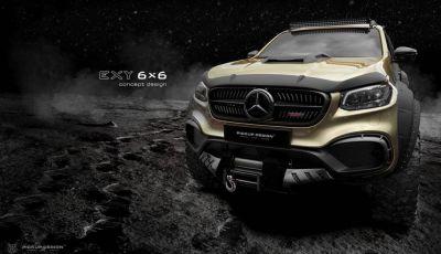 Mercedes Classe X 6x6 by Carlex