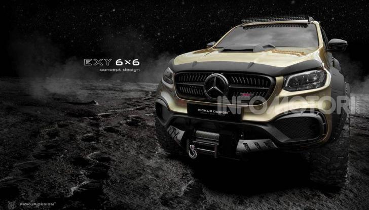 Mercedes Classe X 6×6 by Carlex - Foto 1 di 4