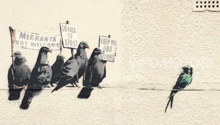 SsangYong Tivoli sostiene l'originalità di Banksy al Mudec di Milano - Foto 10 di 10