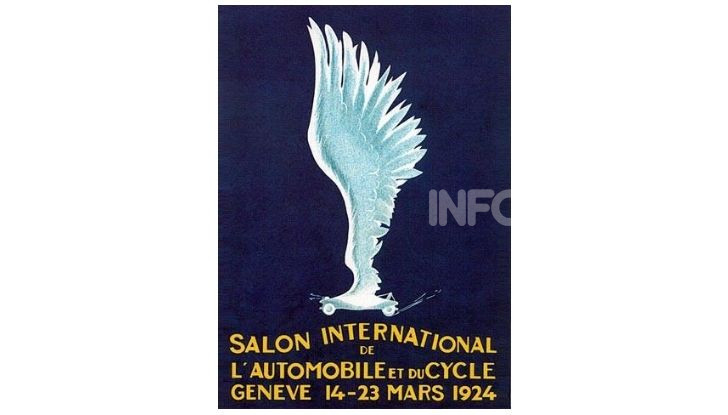 Le locandine del Salone di Ginevra dal 1924 ad oggi - Foto 1 di 90