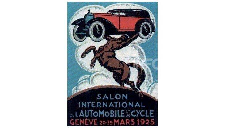 Le locandine del Salone di Ginevra dal 1924 ad oggi - Foto 2 di 90