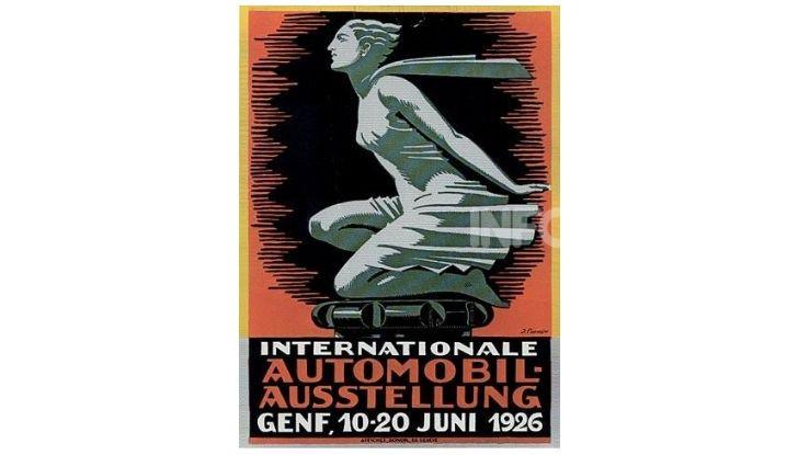 Le locandine del Salone di Ginevra dal 1924 ad oggi - Foto 3 di 88