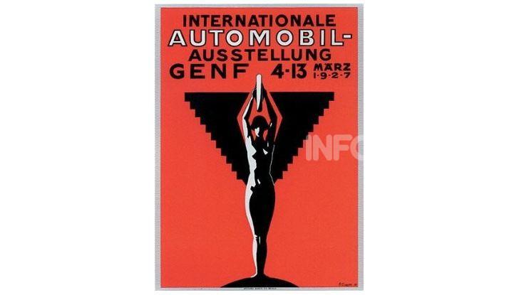 Le locandine del Salone di Ginevra dal 1924 ad oggi - Foto 4 di 88