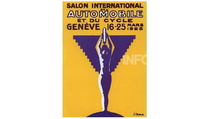 Le locandine del Salone di Ginevra dal 1924 ad oggi - Foto 5 di 88