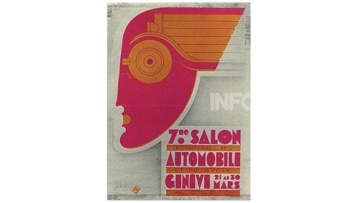 Le locandine del Salone di Ginevra dal 1924 ad oggi - Foto 7 di 88