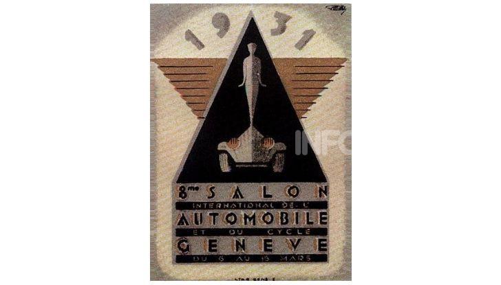 Le locandine del Salone di Ginevra dal 1924 ad oggi - Foto 8 di 90