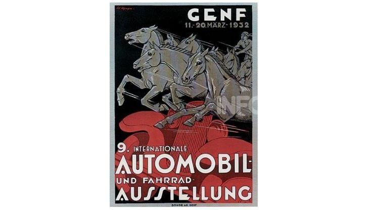 Le locandine del Salone di Ginevra dal 1924 ad oggi - Foto 9 di 88