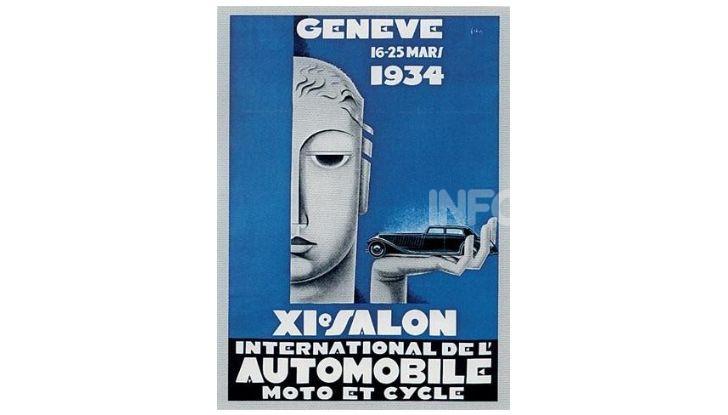 Le locandine del Salone di Ginevra dal 1924 ad oggi - Foto 11 di 88
