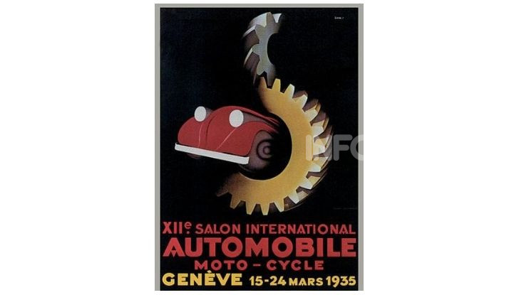 Le locandine del Salone di Ginevra dal 1924 ad oggi - Foto 12 di 88