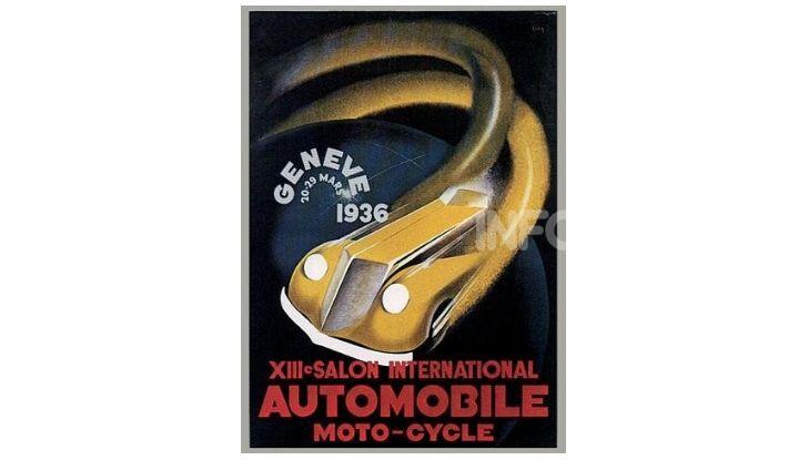 Le locandine del Salone di Ginevra dal 1924 ad oggi - Foto 13 di 88