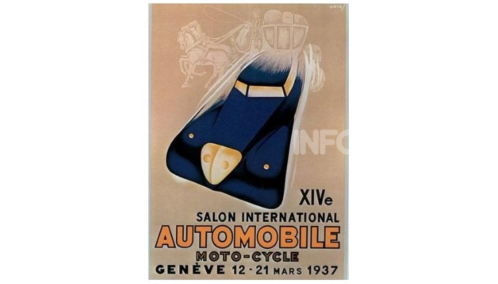 Le locandine del Salone di Ginevra dal 1924 ad oggi - Foto 14 di 88