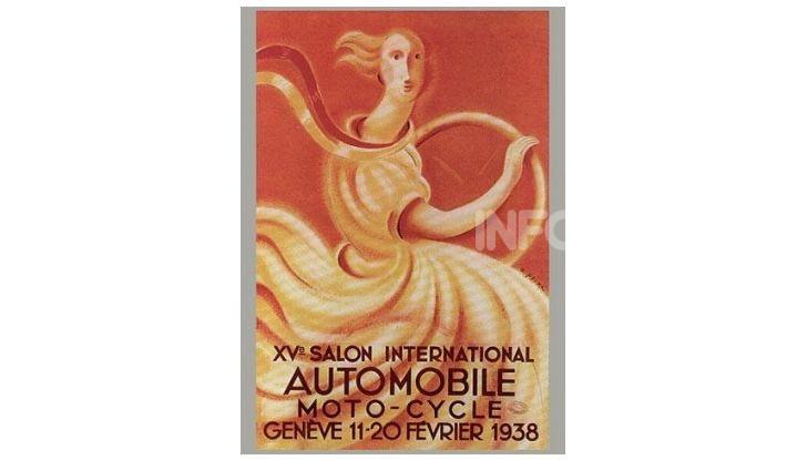 Le locandine del Salone di Ginevra dal 1924 ad oggi - Foto 15 di 90