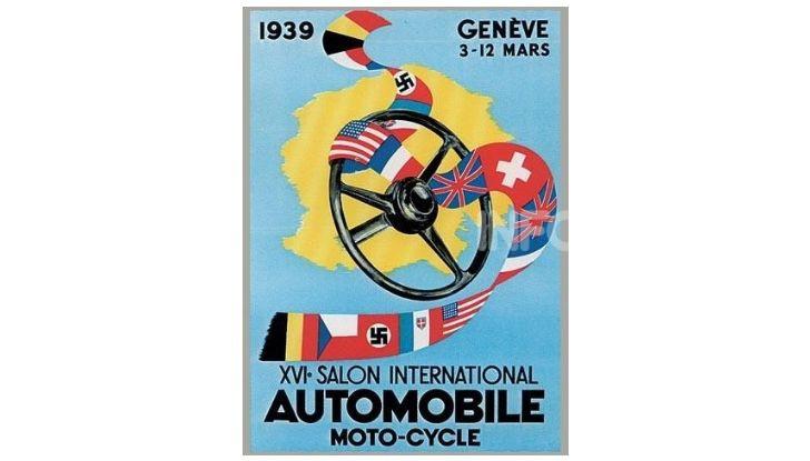 Le locandine del Salone di Ginevra dal 1924 ad oggi - Foto 16 di 90