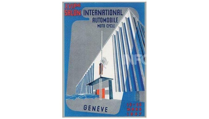 Le locandine del Salone di Ginevra dal 1924 ad oggi - Foto 17 di 88