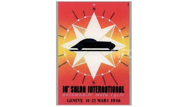 Le locandine del Salone di Ginevra dal 1924 ad oggi - Foto 18 di 88