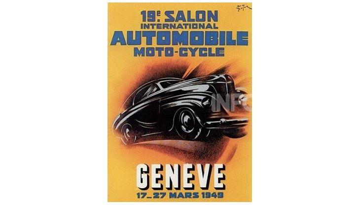 Le locandine del Salone di Ginevra dal 1924 ad oggi - Foto 19 di 88