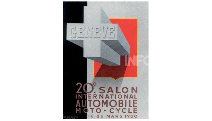 Le locandine del Salone di Ginevra dal 1924 ad oggi - Foto 20 di 88