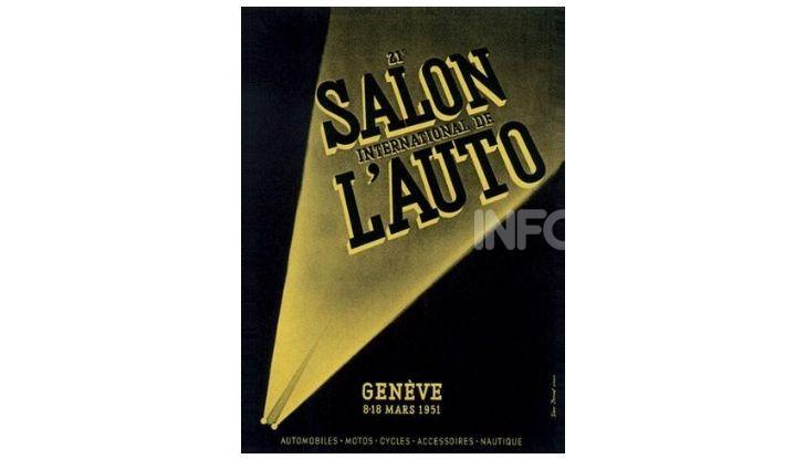 Le locandine del Salone di Ginevra dal 1924 ad oggi - Foto 21 di 88