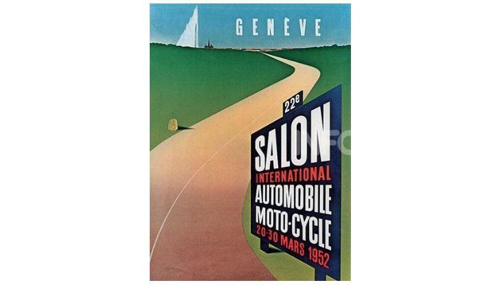 Le locandine del Salone di Ginevra dal 1924 ad oggi - Foto 22 di 88