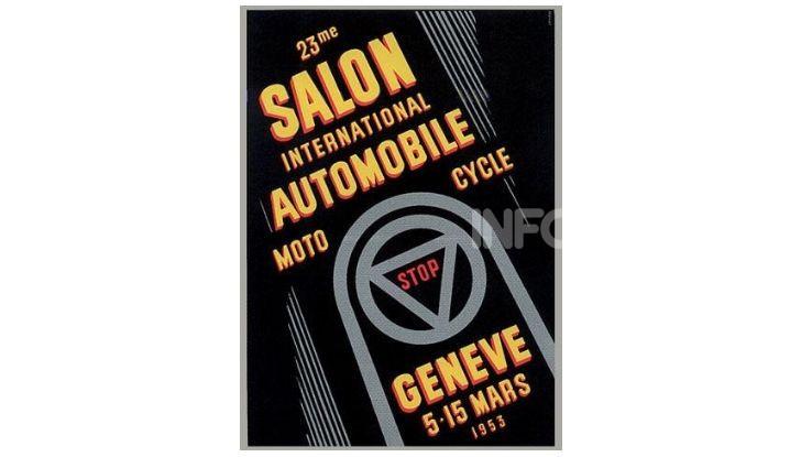 Le locandine del Salone di Ginevra dal 1924 ad oggi - Foto 23 di 88