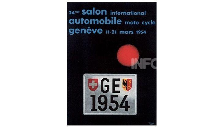 Le locandine del Salone di Ginevra dal 1924 ad oggi - Foto 24 di 90