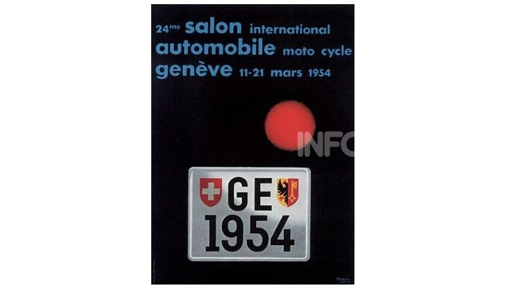 Le locandine del Salone di Ginevra dal 1924 ad oggi - Foto 24 di 88