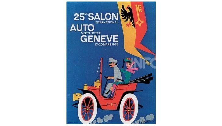 Le locandine del Salone di Ginevra dal 1924 ad oggi - Foto 25 di 90