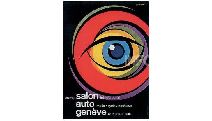 Le locandine del Salone di Ginevra dal 1924 ad oggi - Foto 26 di 88
