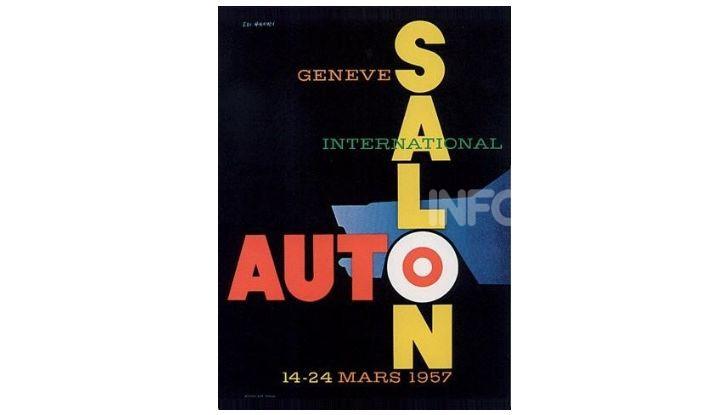 Le locandine del Salone di Ginevra dal 1924 ad oggi - Foto 27 di 88