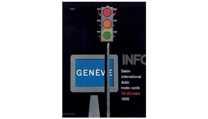Le locandine del Salone di Ginevra dal 1924 ad oggi - Foto 28 di 88