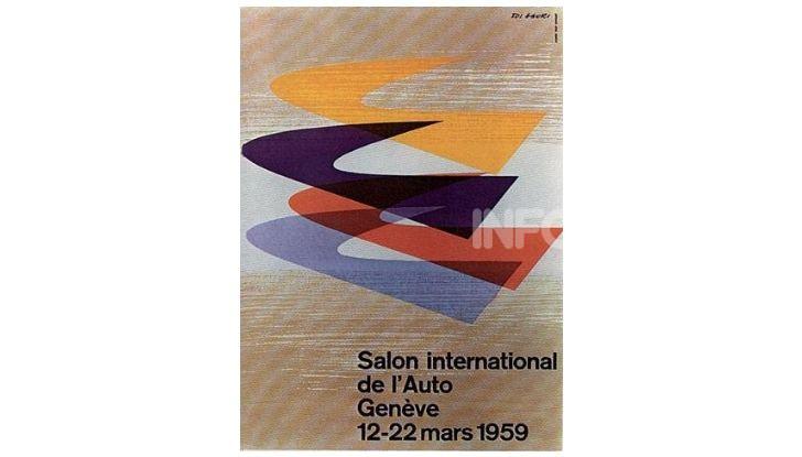 Le locandine del Salone di Ginevra dal 1924 ad oggi - Foto 29 di 90