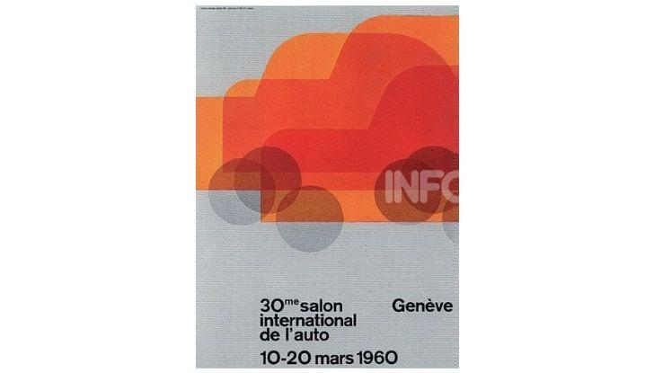Le locandine del Salone di Ginevra dal 1924 ad oggi - Foto 30 di 88