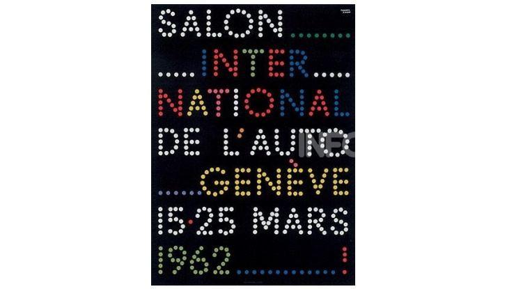 Le locandine del Salone di Ginevra dal 1924 ad oggi - Foto 32 di 88