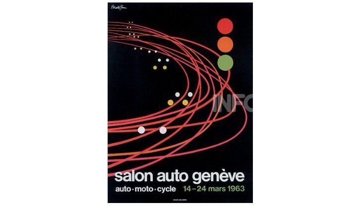 Le locandine del Salone di Ginevra dal 1924 ad oggi - Foto 33 di 88