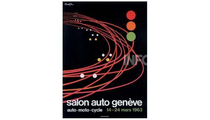Le locandine del Salone di Ginevra dal 1924 ad oggi - Foto 33 di 90