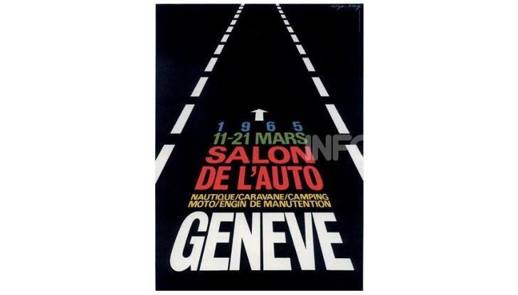 Le locandine del Salone di Ginevra dal 1924 ad oggi - Foto 35 di 90